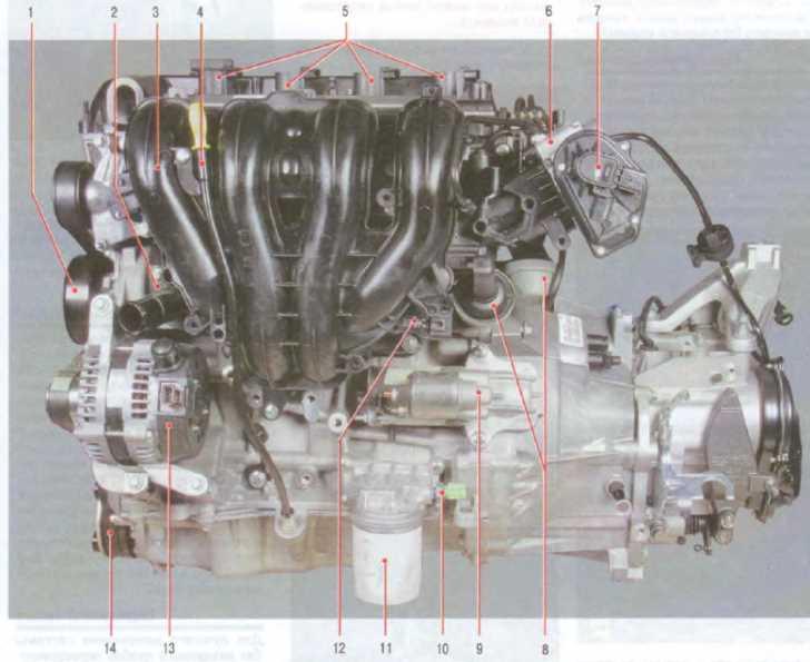 Двигатель 1,8 л Duratec-HE 16V