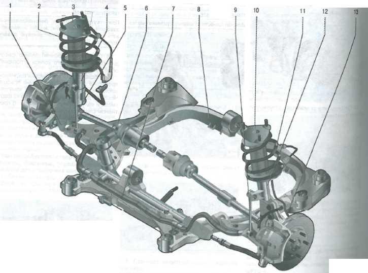Передняя подвеска Hyundai