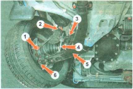 Ремонт ходовой части нексии своими руками 44