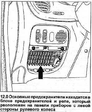 электрическая схема логан