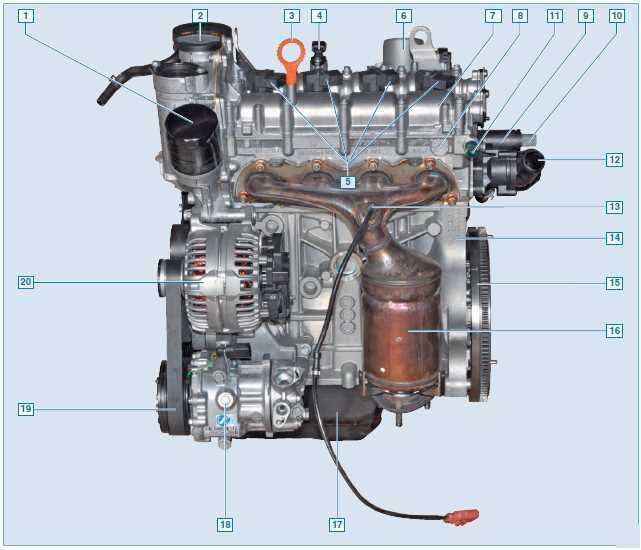 Фото двигателя фольксваген поло