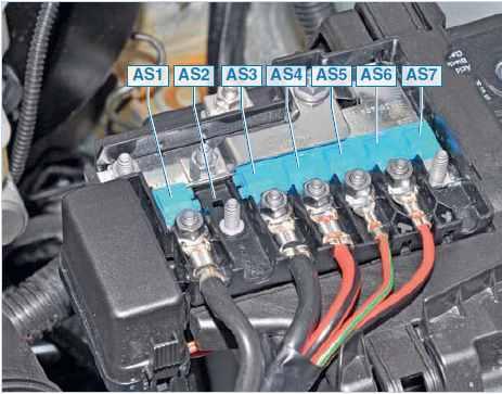 Вот детальный перечень назначение разводки предохранителей на VW Polo после 2012 года, двигатель 1,6 литра с...