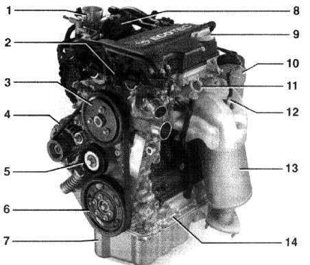 двигатель Z12xe инструкция - фото 9