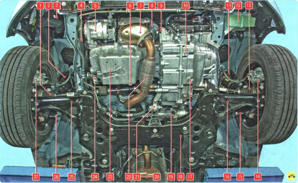 Двигатель шевроле авео 1.2 схема 328
