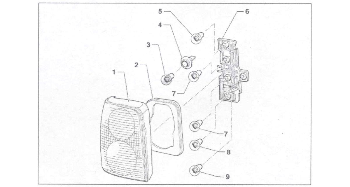 Замена лампы стоп-сигнала vw b5 Покраска двери х6