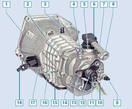 Кпп нива шевроле схема фото 89