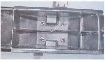Задний бампер Chevrolet Lacetti c 2004 гг