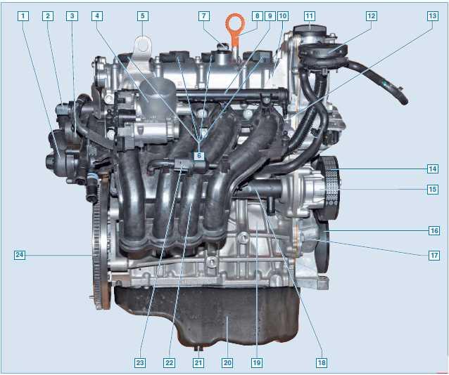 схема системы охлаждения двигателя фольксваген поло седан