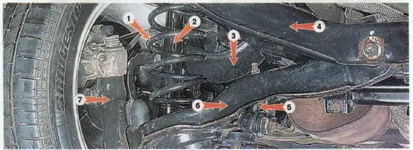 подвеска mazda 3 и axela