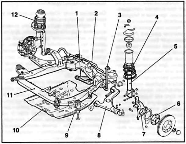Задняя подвеска опель астра h
