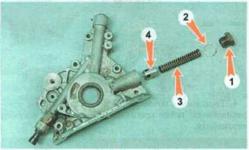 редукционный клапан масляного насоса на фольксвагене