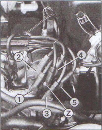 audi 80 b4 abk высоковольтные провода