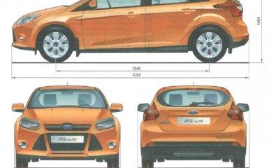 Технические характеристики Ford Focus 3