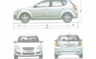 Технические характеристики Kia Ceed 1 (ED) 2007 - 2012 гг.