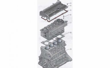 Двигатель Kia Rio 2 2005 - 2011 гг.