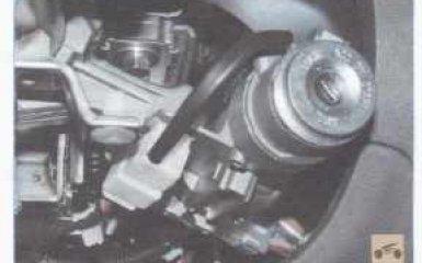 Выключатель (замок) зажигания Kia Rio 2 2005 - 2011 гг.