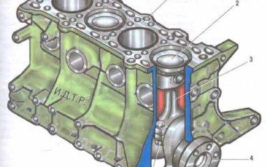 Двигатель 1.6 Kia Spectra 2