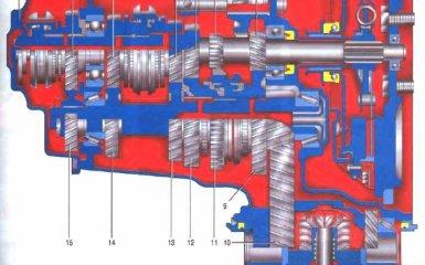 Коробка передач Kia Spectra 2