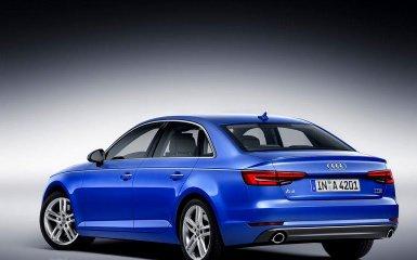 Audi провела рестайлинг модели A4 седан 2016 года
