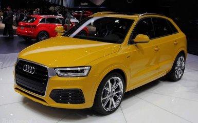 Audi Q3 2015: еще мощней и элегантней