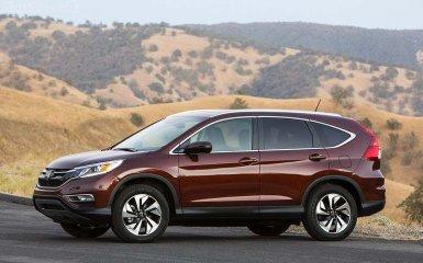 Honda показала обновлённый CR-V 2015 года