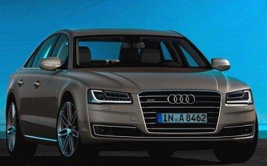 Audi провела обновление седана A8