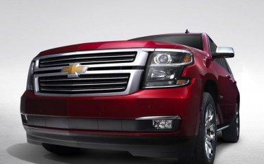 Chevrolet провел рестайлинг кроссовера Tahoe 2015 года