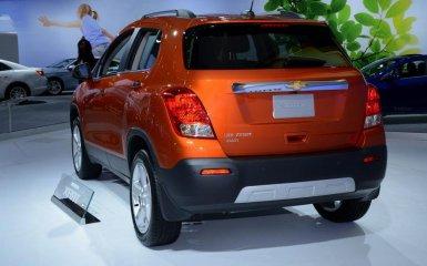 В Париже состоялся дебют кроссовера Chevrolet Tracker