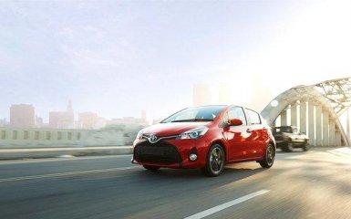 Toyota провела рестайлинг хэтчбэка Yaris 2015 года