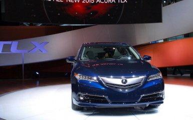Acura TLX 2015-2016 — обновление люксового седана