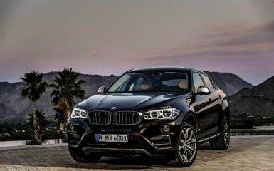 Новый BMW X6 в кузове F16