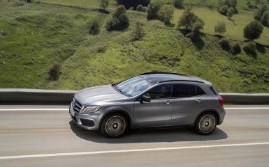 Новый Mercedes GLA 2015 — рестайлинг кроссовера