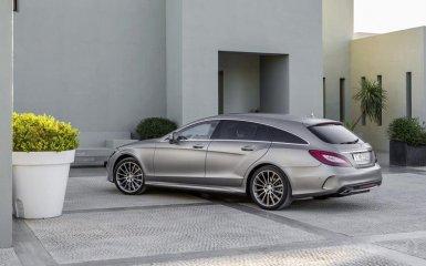 Mercedes преобразил CLS-Class