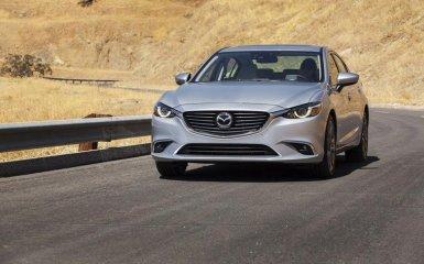 Рестайлинг Mazda 6 седан 2016 года
