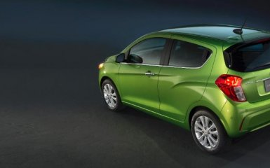 Рестайлинг Chevrolet Spark 2015-2016 года