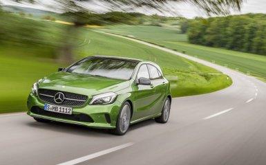 Представлено третье поколение Mercedes A-Class W176