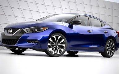 Обновленный Nissan Maxima 2016 восьмого поколения