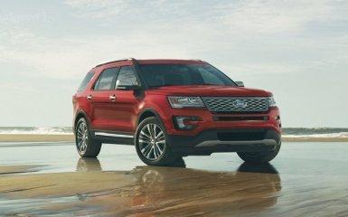 Представлен новый кроссовер Ford Explorer 2016 года