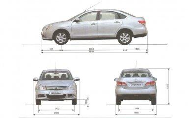 Технические характеристики Nissan Almera G11 с 2012 г.