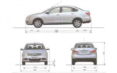Технические характеристики Nissan Almera G15