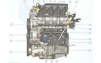 Двигатель Nissan Almera G11 с 2012 г.