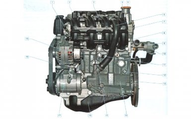 Двигатель Lada Priora