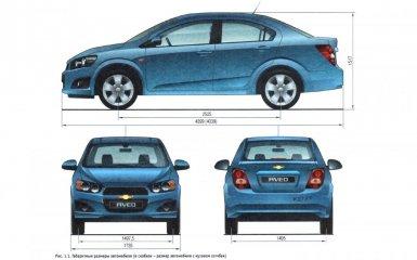 Технические характеристики Chevrolet Aveo T300