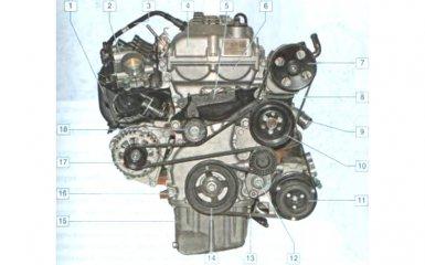 Двигатель Chevrolet Cobalt 2 (T250)