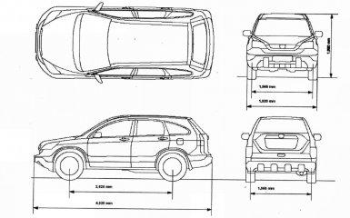 Технические характеристики Honda CR-V 3