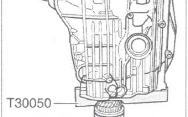 Регулировка входного/первичного вала МКП 01W/012 VW Passat B5