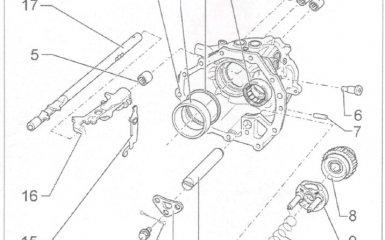 Ремонт корпуса подшипника коробки передач 01Е/0А1 на VW Passat B5