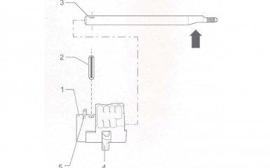Разборка и сборка вала переключения передач МКП 01Е/0А1 на VW Passat B5