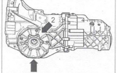 Коробка передач 0А2 на VW Passat B5 GP
