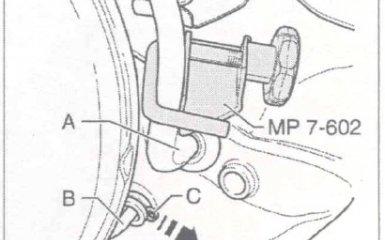 Замена главного цилиндра сцепления МКП 0А2 на VW Passat B5 GP